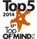 Top 5 2014. Top of Mind